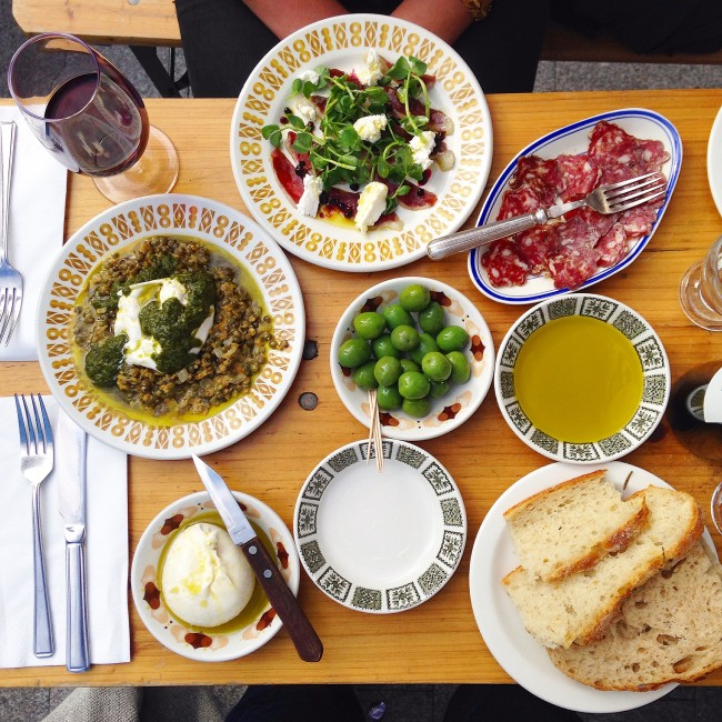 Lardo - small plates, Italian tapas, whatever, it all tastes great